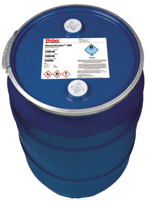 GHS label on drum