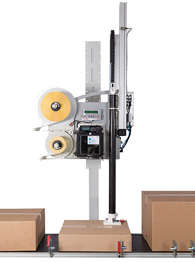 Model LA-600 variable-height label printer-applicators