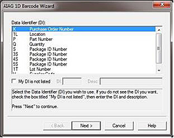 barcode wizard screen grab