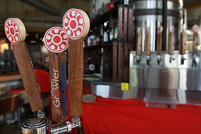 Urban Growler tap handles