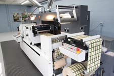 didgital label finishing equipment