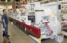 Weber's flexo label presses