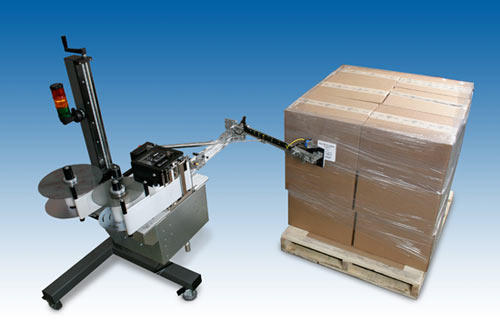Model 5300 Swing-Tamp Pallet print apply system