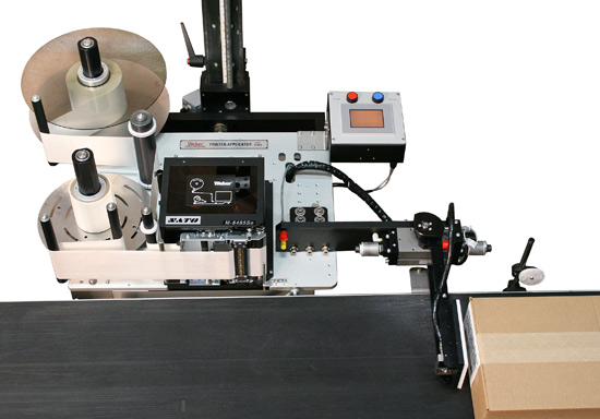 Model 5300 air-blow print apply system